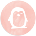 Sluitsticker pinguin